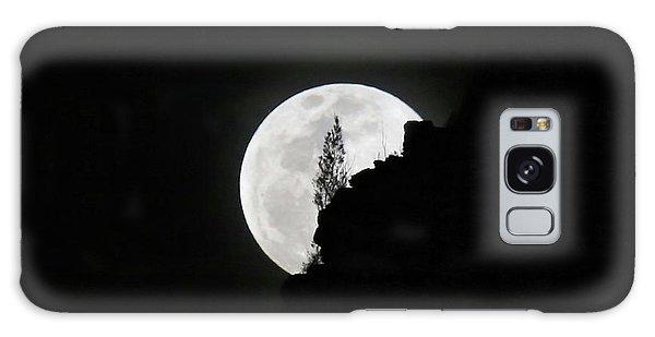 Full Moon Rising Over Makapu'u Galaxy Case