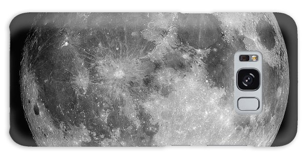 Galaxy Case featuring the photograph Full Moon by Roth Ritter