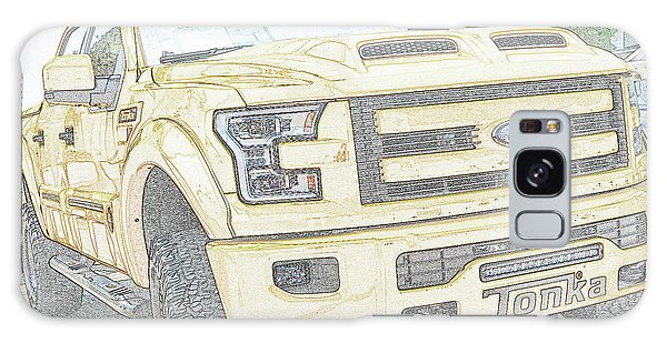 Galaxy Case featuring the photograph Full Sized Toy Truck by John Schneider