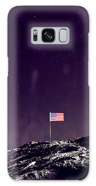 Fun On The Moon Galaxy Case by Methune Hively