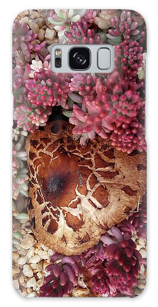 Fungus And Succulents Galaxy Case
