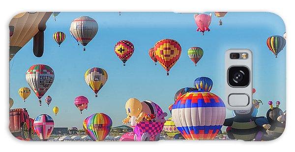 Funky Balloons Galaxy Case