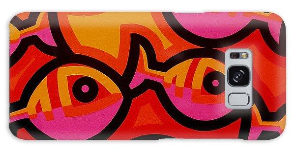 Fish Galaxy S8 Case - Funky Fish Iv by John  Nolan