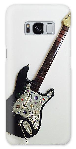 Funky Folk Art Guitar Galaxy Case
