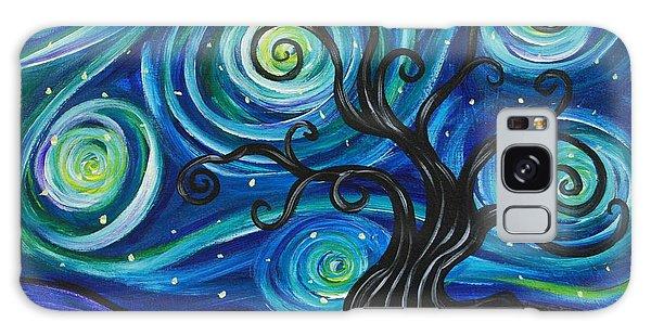 Funky Tree, Starry Night Galaxy Case