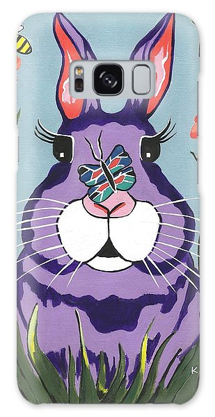 Funny Bunny  Galaxy Case