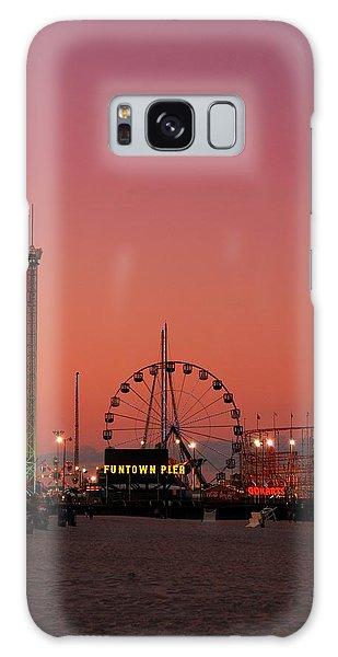 Funtown Pier At Sunset II - Jersey Shore Galaxy Case