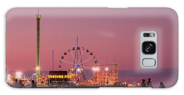 Funtown Pier At Sunset IIi - Jersey Shore Galaxy Case