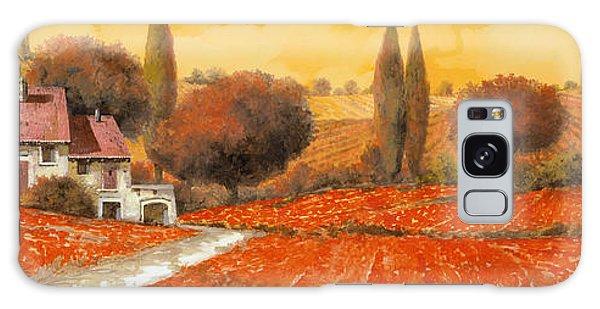 Landscape Galaxy S8 Case - fuoco di Toscana by Guido Borelli