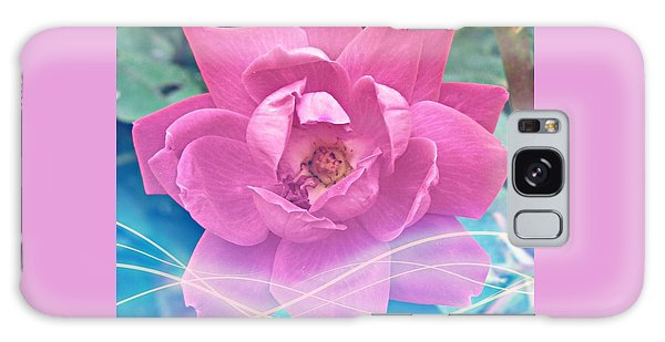 Fuschia Flower Energy Galaxy Case