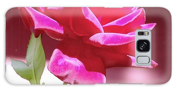 Fuschia Rose Galaxy Case by Rod Ismay