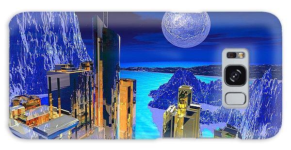 Futuristic City Galaxy Case