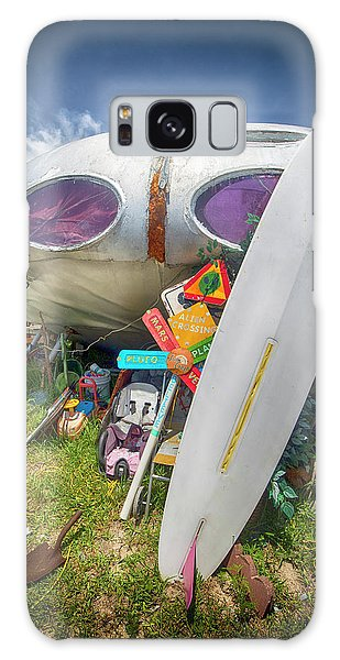 Galaxy Case featuring the photograph Futuro House 2 by Alan Raasch