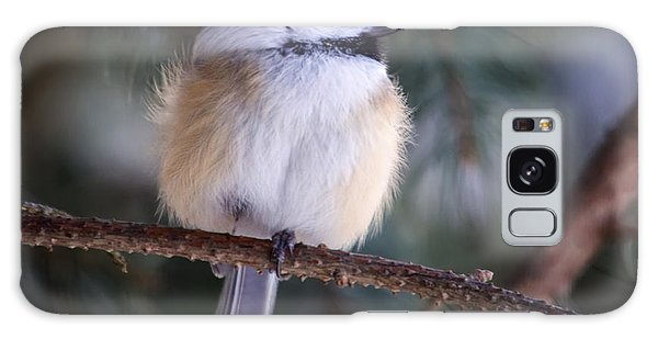 Fuzzy Chickadee Galaxy Case