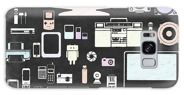 Gadgets Icon Galaxy Case by Setsiri Silapasuwanchai