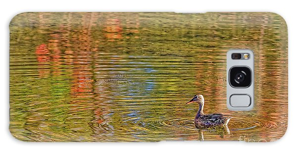 Gadwall In Fall Galaxy Case