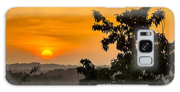 Gainesville Sunrise Galaxy Case by Michael Sussman