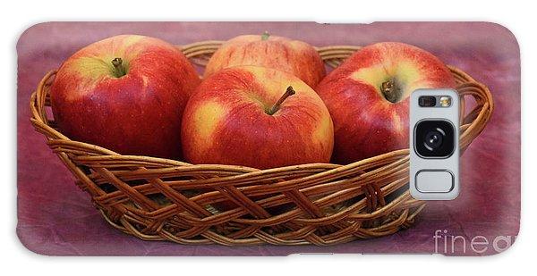 Gala Apple Basket Galaxy Case by Ray Shrewsberry