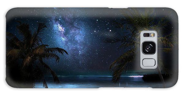 Galaxy Beach Galaxy Case