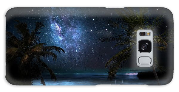 Galaxy Beach Galaxy Case by Mark Andrew Thomas