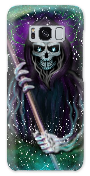 Galaxy Grim Reaper Fantasy Art Galaxy Case