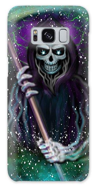 Galaxy Grim Reaper Fantasy Art Galaxy Case