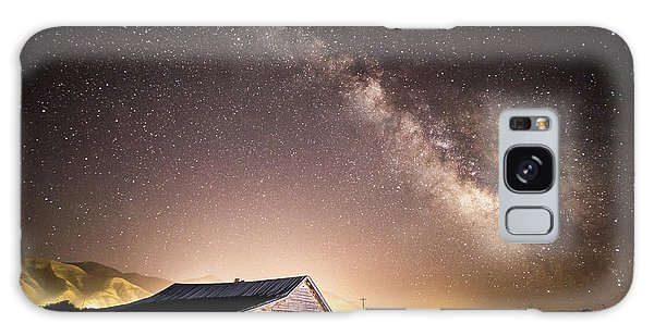 Galaxy Case featuring the photograph Galaxy In Star Valley by Wesley Aston