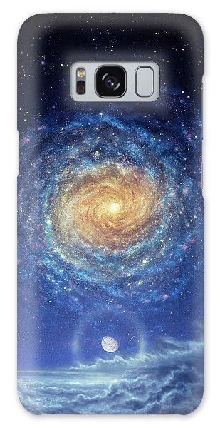 Cloudscape Galaxy Case - Galaxy Rising by Don Dixon
