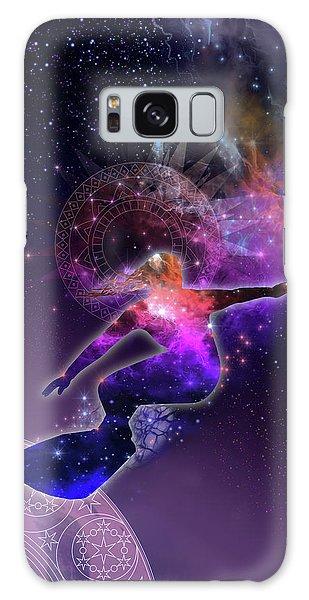 Milky Way Galaxy Case - Galaxy Surfer 5 by Bekim M