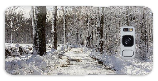 Gales Ferry Winter Wonderland Galaxy Case