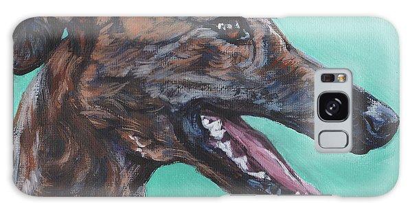 Sighthound Galaxy Case - Galgo Espanol Spanish Greyhound by Lee Ann Shepard