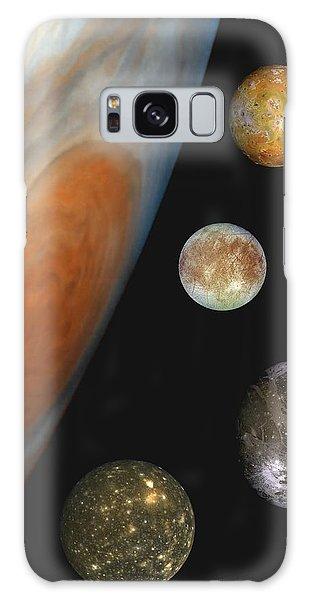 Galilean Moons Of Jupiter Galaxy Case