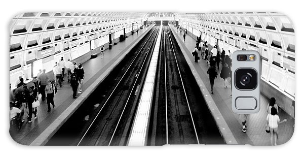 Train Galaxy S8 Case - Gallery Place Metro by Thomas Marchessault