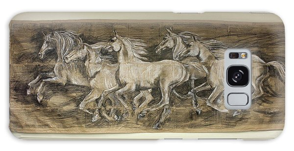 Galloping Stallions Galaxy Case