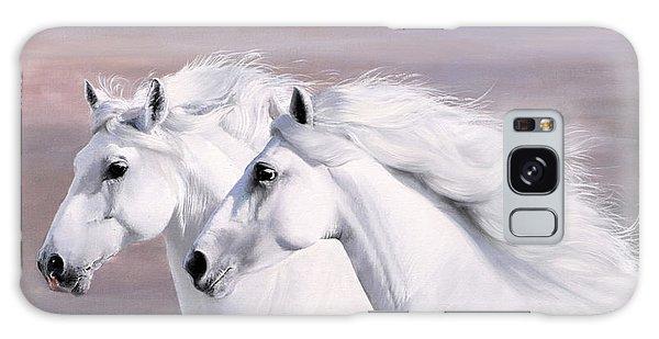 White Horse Galaxy S8 Case - Galoppo Nel Vento by Guido Borelli