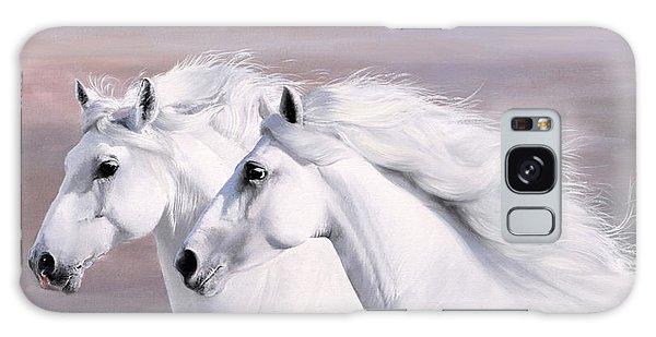 White Horse Galaxy Case - Galoppo Nel Vento by Guido Borelli