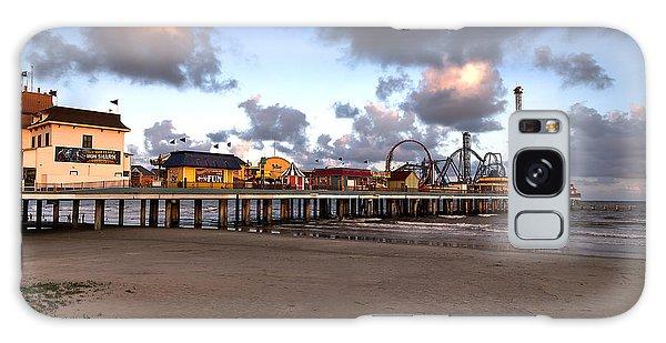 Galveston Island Historic Pleasure Pier Galaxy Case