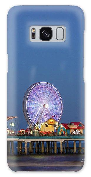 Galveston Pier  Galaxy Case