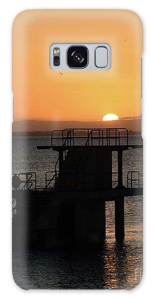 Galway Bay Sunrise Galaxy Case