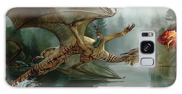 Beast Galaxy Case - Game Of Chase by Heather Theurer