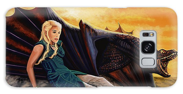 Dragon Galaxy S8 Case - Game Of Thrones Painting by Paul Meijering