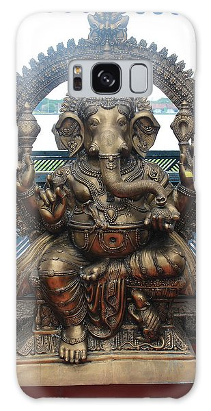 Ganapati Bronze Statue, Fort Kochi Galaxy Case by Jennifer Mazzucco
