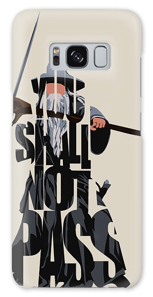 Mixed-media Galaxy Case - Gandalf - The Lord Of The Rings by Inspirowl Design