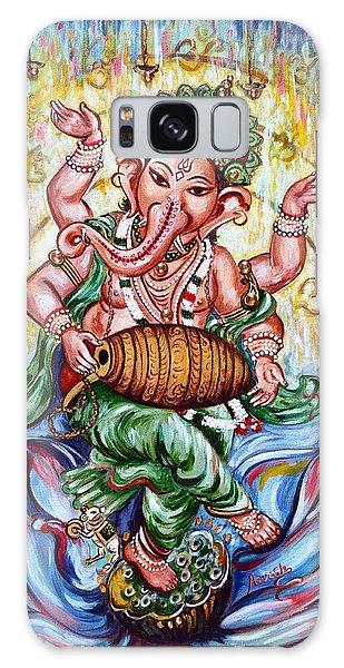 Ganesha Dancing And Playing Mridang Galaxy Case
