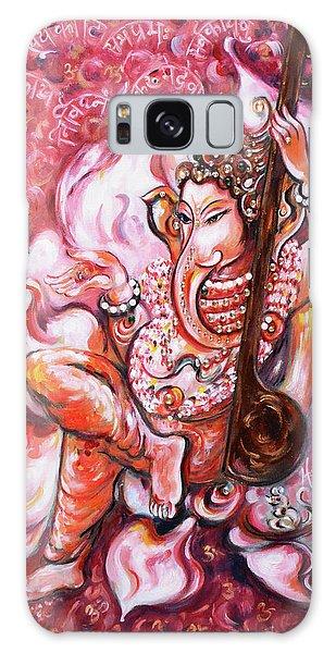 Ganesha - Enjoying Music Galaxy Case