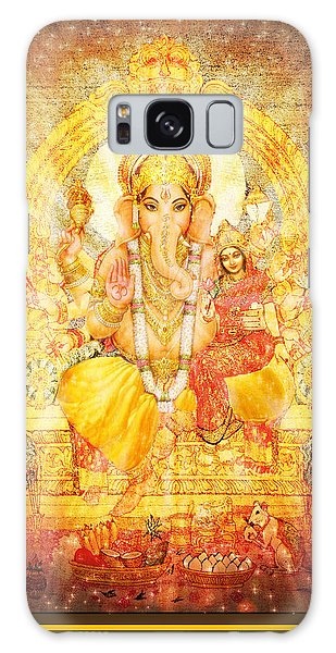 Ganesha Ganapati  Galaxy Case by Ananda Vdovic