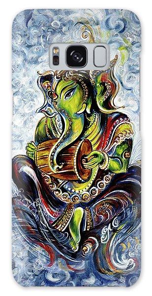 Ganesha Mridangam  Galaxy Case