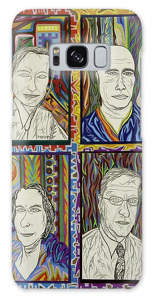 Gang Of Four Galaxy Case by Robert SORENSEN