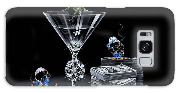 Hundred Galaxy Case - Gangsta Martini Livin' Large by Michael Godard