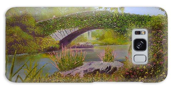 Gapstow Bridge Central Park Galaxy Case
